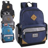 "24 Units of Trailmaker 19 Inch Duo Compartment Backpack with Laptop Sleeve - Backpacks 18"" or Larger"