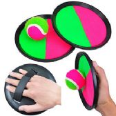 12 Units of Velcro Catch Ball Game Sets - Sports Toys