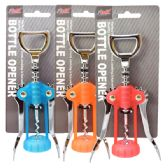 48 Units of Corkscrew & Cap Opener Assorted Colors - Kitchen > Accessories