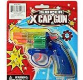 48 Units of Translucent Super X Cap Guns Pistol - Toy Weapons