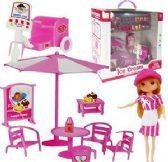 4 Units of 30 Piece Ice Cream Doll Sets - Dolls