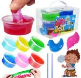 36 Units of 10 Piece Magic Clay Slime Sets