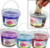 36 Units of Large Multicolored Magic Clay Slimes - Clay & Play Dough