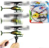 36 Units of Pull String Air Helicopters - Cars, Planes, Trains & Bikes