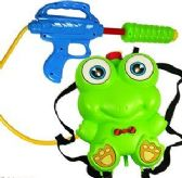 24 Units of Frog Backpack Water Blasters - Water Guns