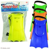 48 Units of Kid's Swim Fins - Summer Toys