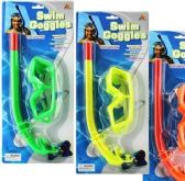 72 Units of Swim Goggles And Snorkel Sets