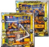 36 Units of 17 Piece Construction Crew Play Sets