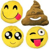 "24 Units of 12"" Plush Emojis - Plush Toys"