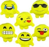 "288 Units of 5.5"" Mini Plush Emoji Buddies - Plush Toys"