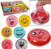 "288 Units of 3"" Emoji Crystal Mud Slime - Slime & Squishees"