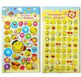 48 Units of 3D Emoji Stickers