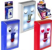 24 Units of LED Fun Switch Emoji Night Lights - NIGHT LIGHTS