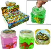 48 Units of Dinosaur Crystal Mud Slimes - Slime & Squishees
