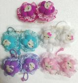 60 Units of Kitty Hair Band - PonyTail Holders