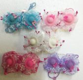 60 Units of Little Hat Hair Band - PonyTail Holders