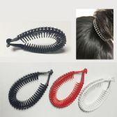 144 Units of Hair Clips /Color assorted - Hair Accessories