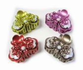 144 Units of Hair Clips/ Color Assorted - Hair Fancy Clips