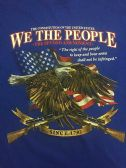 12 Units of LARGE DECAL WE THE PEOPLE
