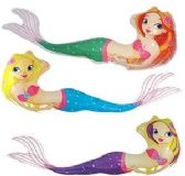60 Units of Inflatable Mermaids - Summer Toys