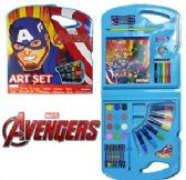 4 Units of 28 Piece Marvel's Avengers Art Sets - CRAFT KITS
