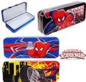 96 Units of Spiderman Metal Pencil Boxes - Pencil Boxes & Pouches