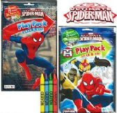 96 Units of Spiderman Play Packs - Grab & Go - Coloring Books