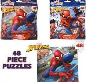 24 Units of Spiderman Jigsaw Puzzles - PUZZLES