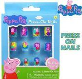 96 Units of Peppa Pig 12 Pc Press On Nails - Nail Care