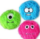 "192 Units of 6.5"" Plush Fuzzy Monsters - Plush Toys"