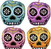 "192 Units of 5"" Mini Plush Sugar Skulls - Plush Toys"
