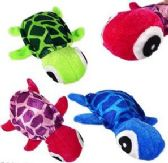 "288 Units of 7"" Mini Plush Colorful Turtles - Plush Toys"