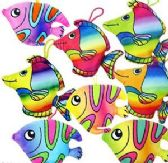 "240 Units of 5.5 "" Plush Tropical Fish - Plush Toys"