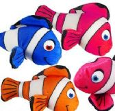 "288 Units of 6.5"" Mini Plush Colorful Clown Fish - Plush Toys"