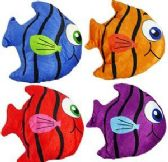 "288 Units of 6.5"" Mini Plush Coloruful Angel Fish - Plush Toys"