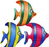 "288 Units of 7"" Mini Plush Angel Fish - Plush Toys"