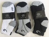 72 Units of Men short socks Size9-11 - Mens Ankle Sock