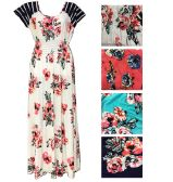 48 Units of Lady's Rose Summer Dress/Color size assorted