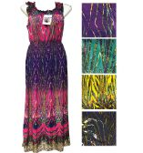 48 Units of Lady's Wave Summer Dress/color size assorted - Womens Sundresses & Fashion