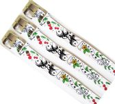 48 Units of Cherry & Dice Printed Belt - Kid Belts