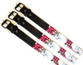 48 Units of Pyramid Studded Skull Printed Belt - Kid Belts