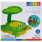 "12 Units of 47""X31"" FROGGY SHADED BABY FLOAT AGE 1+ IN COLOR BOX - Summer Toys"
