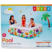 "3 Units of 62.5"" X 62.5"" SWIM CENTER POOL CLEARVIEW IN COLOR BOX - Summer Toys"