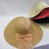 36 Units of Womens Fashion Summer Hat With Gold Chains - Sun Hats