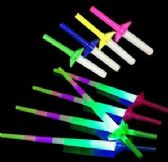 216 Units of Light Up Retractable Swords - Light Up Toys