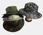 24 Units of Fishing Sun Hat (Dozen) Color Assorted - Cowboy, Boonie Hat