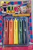 50 Units of Tub FUN Rub-a-dub Draw In The Tub Bathtub Crayons (5 per-pk) - Chalk,Chalkboards,Crayons