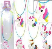72 Units of Rainbow Unicorn Necklaces - Necklace