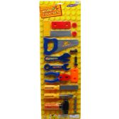 48 Units of 16PC WORK TOOL SET IN BLISTER CARD - Toy Sets