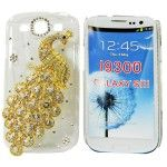 12 Units of Glaxy III S3 3D Peacock Gold Protective Case - Cell Phone Accessories